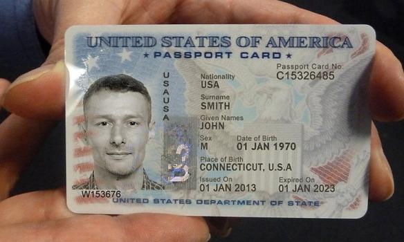 Паспорт-карта гражданина США