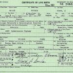 Свидетельство о рождении Обамы