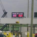 Коридор NEXUS Lane на границе