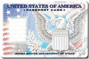Паспорт-карта (пустой бланк)
