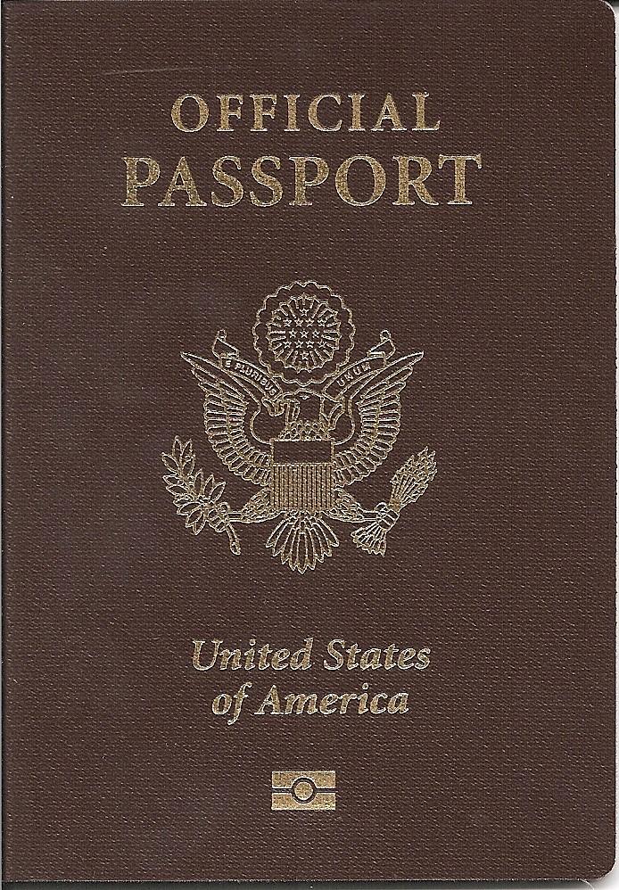 Служебный паспорт США