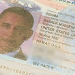 Настоящий паспорт Обамы