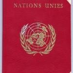 Красный паспорт ООН