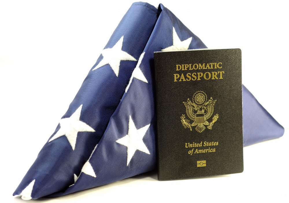 usa-diplomatic-passport-with-folded-usa-flag