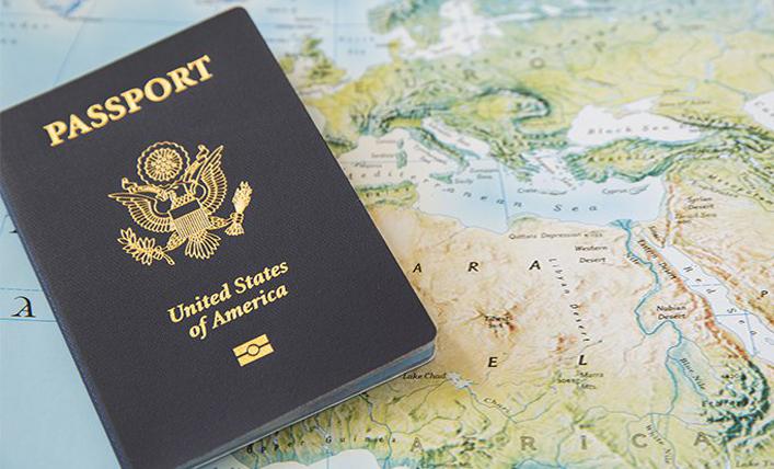 Паспорт США в качестве