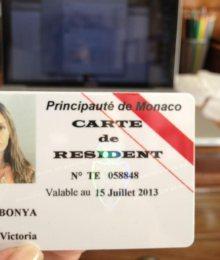 ВНЖ в Монако Виктории Бони