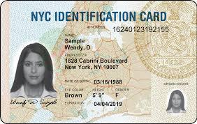 Удостоверение личности жителя города Нью-Йорк (New York City ID)