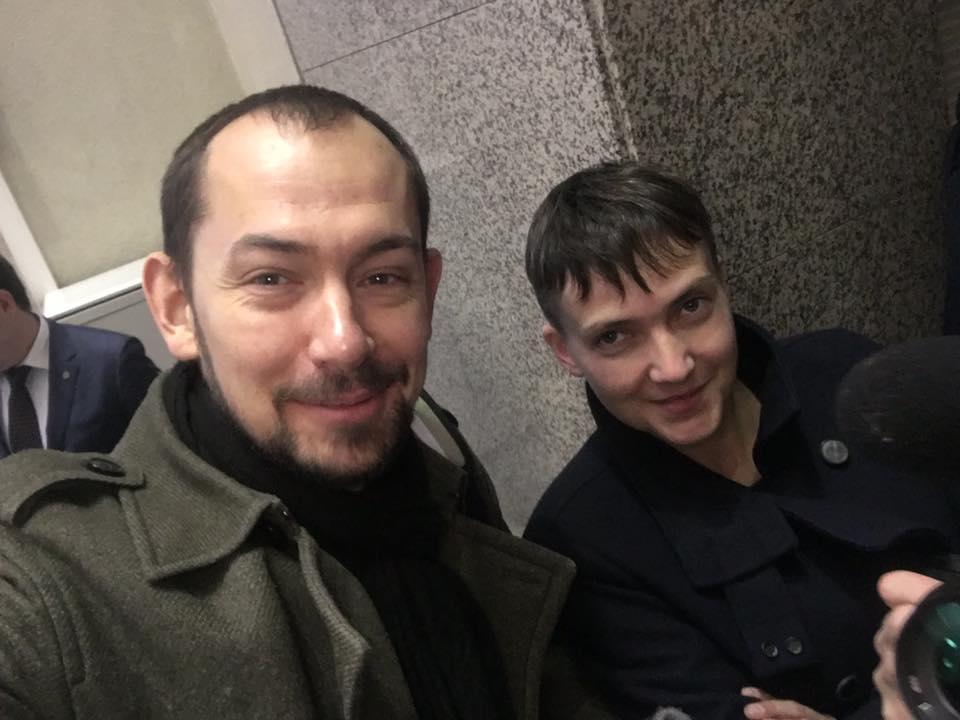Савченко прибыла в Москву