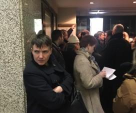 Савченко в Москве ждет заседания суда (26.10.2016)