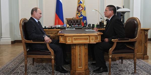 Владимир Путин и Алексей Улюкаев в 2013 году - ТАСС