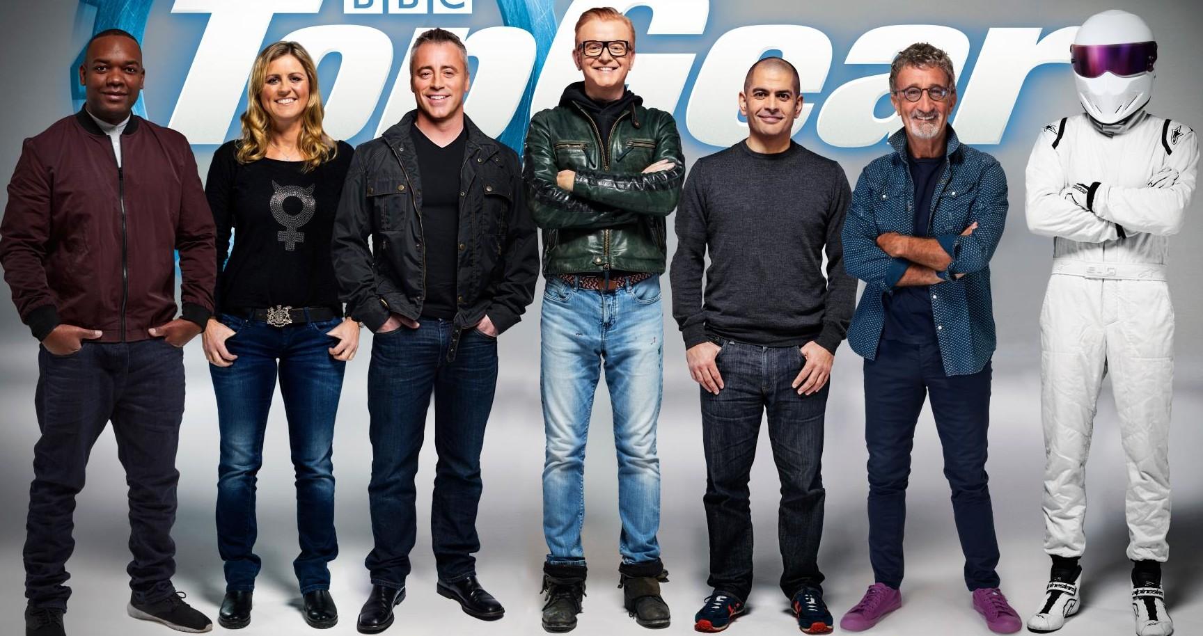 Новый состав ведущих Top Gear