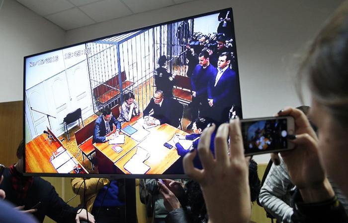 Улюкаев в зале суда - ТАСС, Артем Геодакян
