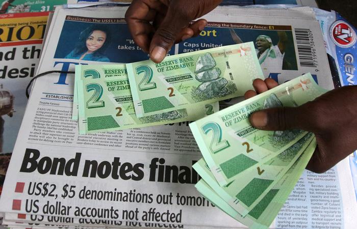 Новая зимбабвийская валюта - Reuters