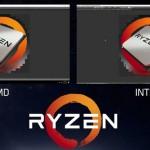 Сравнение i7 6900k и Ryzen - рендеринг