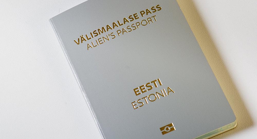Паспорт иностранца Эстонии