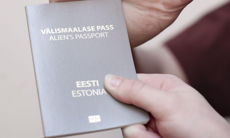 Паспорт не гражданина Эстонии