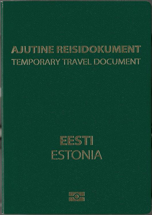 Временный проездной документ Эстонии