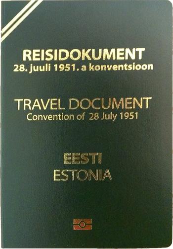 Проездной документ беженца в Эстонии