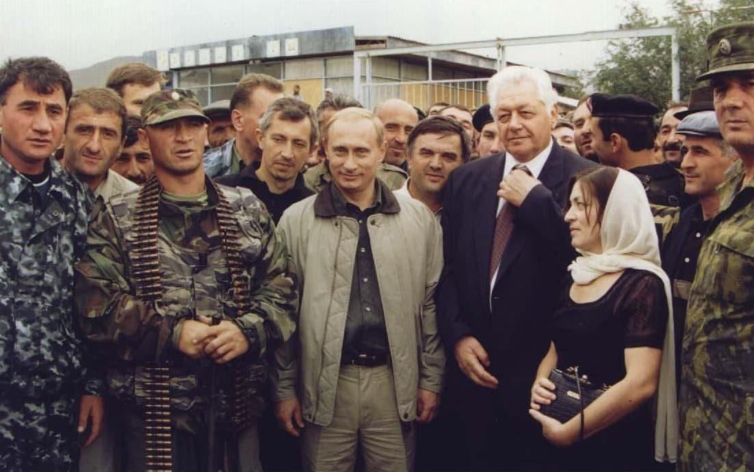 Путин старые фото