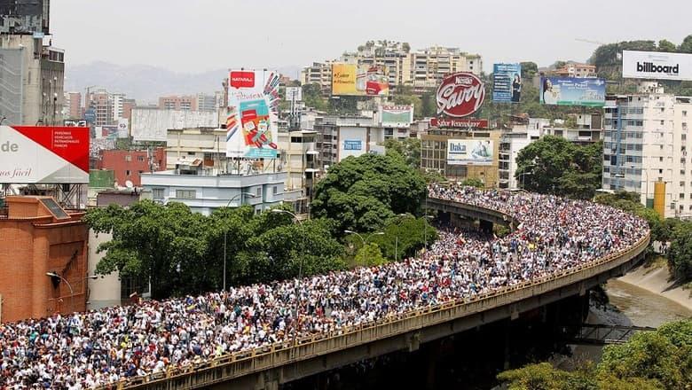 Митинги в Венесуэле