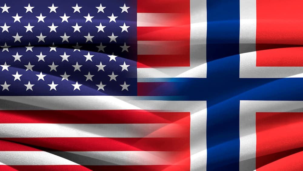 США Норвегия