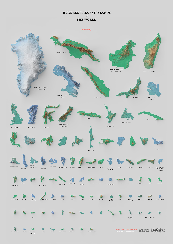 Самый большой в мире остров
