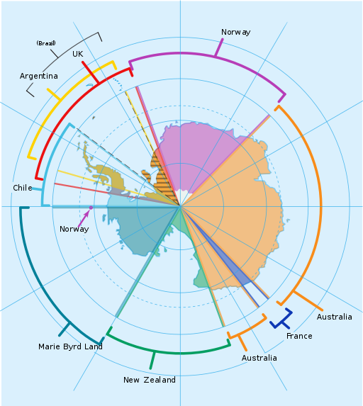 Разделение антарктики